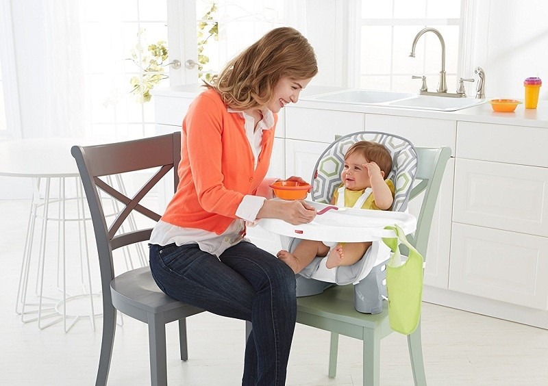458dc200da9b2 Fisher Price SpaceSaver High Chair Review